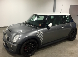 MINI Cooper John Cooper Works JCW usine 210cv