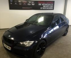 BMW 320 D E90 163cv bleu Monaco look M3